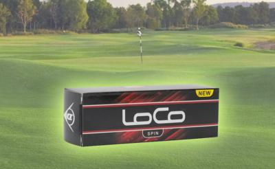 New Dunlop Golf LoCo Golf Ball